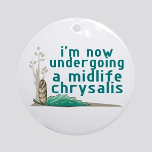 Midlife Chrysalis Ornament (Round)