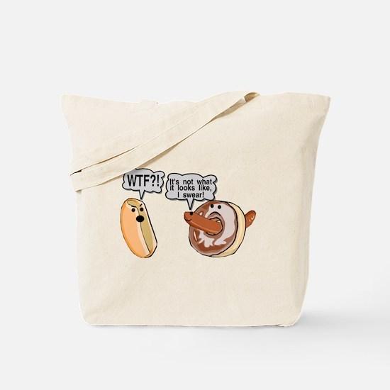 Doughnut Hole Tote Bag
