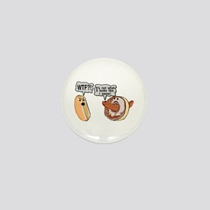 Doughnut Hole Mini Button