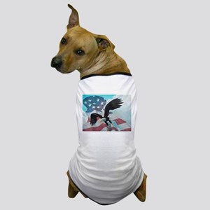 Patriot Eagle Dog T-Shirt