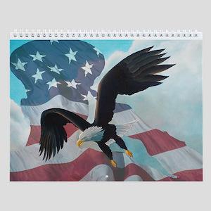 Patriot Eagle Wall Calendar