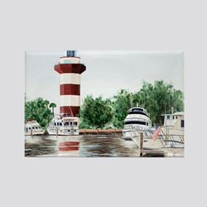 harbor town light Magnets