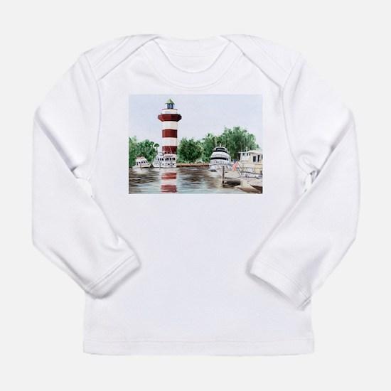 Unique Harbors Long Sleeve Infant T-Shirt