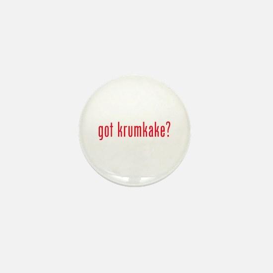 got krumkake? (red) Mini Button