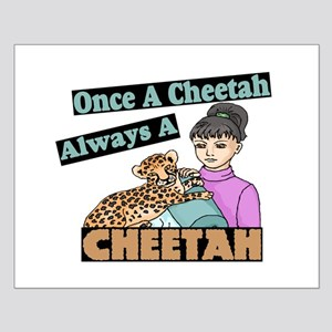 Once A Cheetah Small Poster