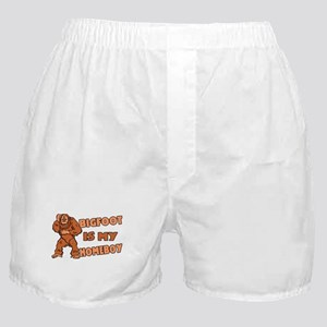 Bigfoot Is My Homeboy Boxer Shorts