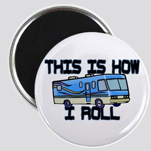 How I Roll RV Magnet