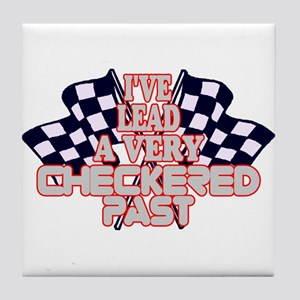 Checkered Past Tile Coaster