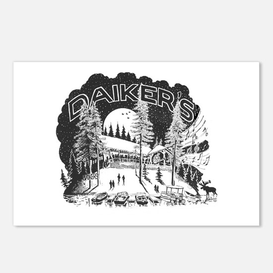 Daikers Logo Postcards (Package of 8)