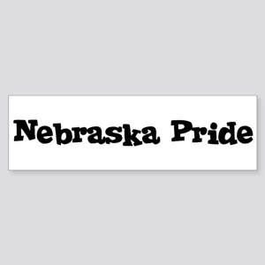 Nebraska Pride Bumper Sticker