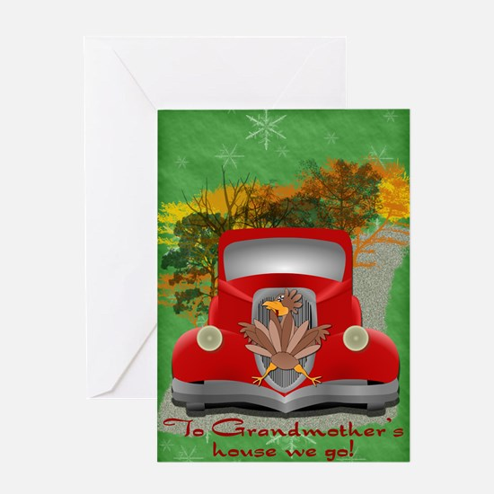 Holiday Road Kill Greeting Card
