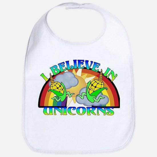 I Believe In Unicorns Bib