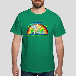 I Believe In Unicorns Dark T-Shirt