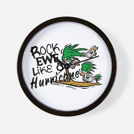 Rock Ewe Wall Clock