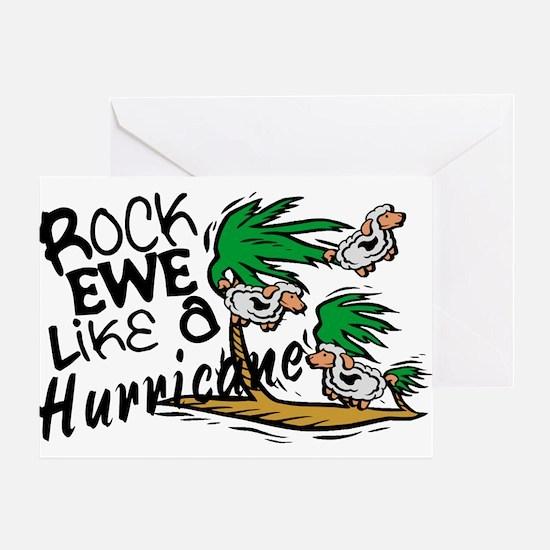 Rock Ewe Greeting Card