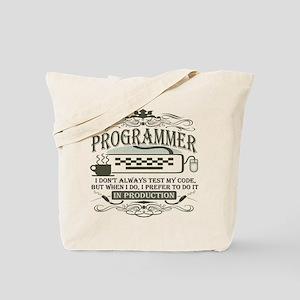 programmer-darks Tote Bag