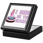 I Sing On The Cake Keepsake Box