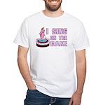 I Sing On The Cake White T-Shirt