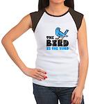 The Bird is the Word Women's Cap Sleeve T-Shirt