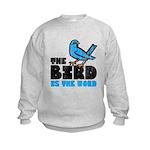 The Bird is the Word Kids Sweatshirt