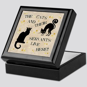 THE CAT AND THEIR... Keepsake Box