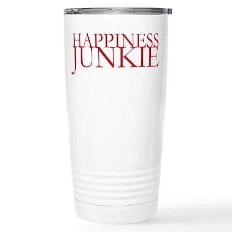 Happiness Junkie Stainless Steel Travel Mug