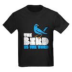 The Bird is the Word Kids Dark T-Shirt