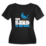 The Bird is the Word Women's Plus Size Scoop Neck