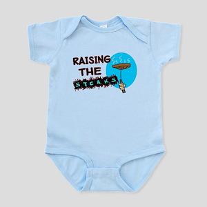 Raising The Steaks Infant Bodysuit