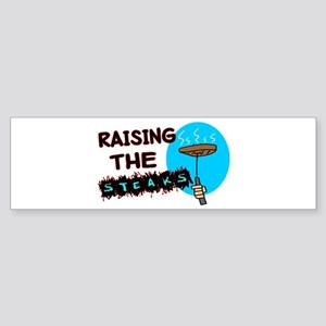 Raising The Steaks Sticker (Bumper)