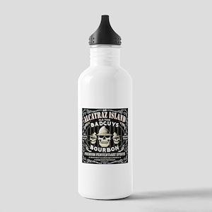 ALCATRAZ ISLAND BAD GUYS BOUR Stainless Water Bott
