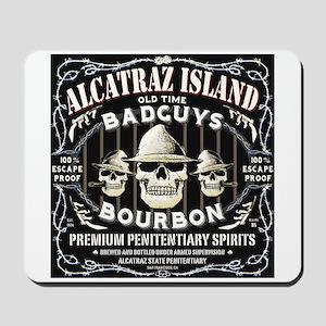 ALCATRAZ ISLAND BAD GUYS BOUR Mousepad