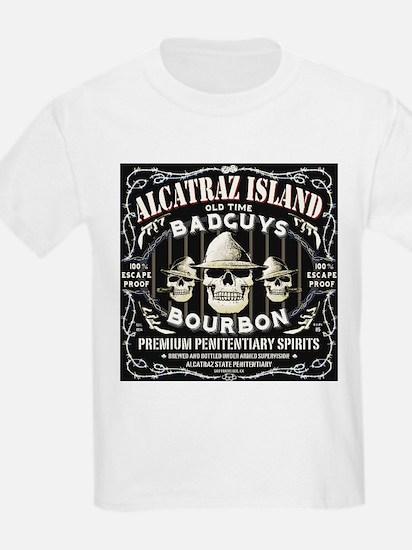 ALCATRAZ ISLAND BAD GUYS BOUR T-Shirt
