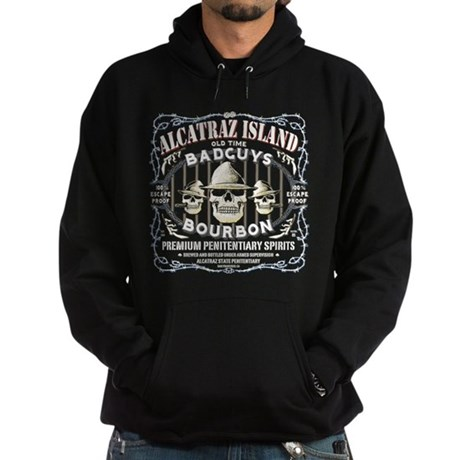 ALCATRAZ ISLAND BAD GUYS BOUR Hoodie (dark)