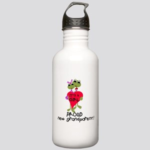 Grandparent of Girl Stainless Water Bottle 1.0L