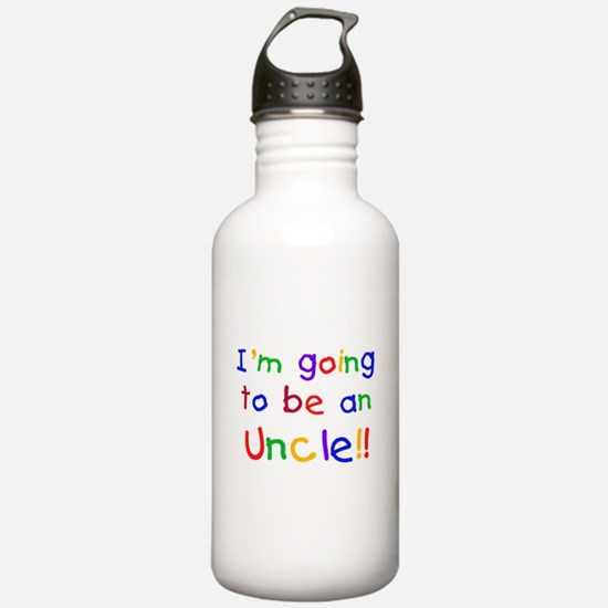 Going to be an Uncle Water Bottle