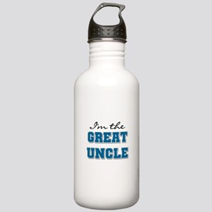 Blue Great Uncle Stainless Water Bottle 1.0L