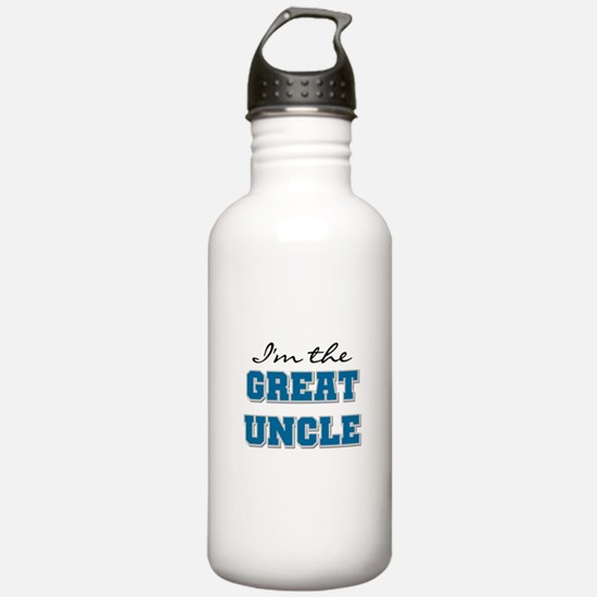 Blue Great Uncle Water Bottle