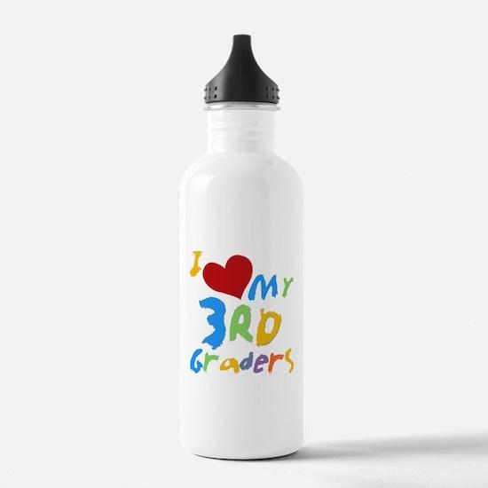I Love My 3rd Graders Water Bottle