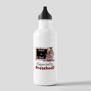 Preschool School is Cool Stainless Water Bottle 1.