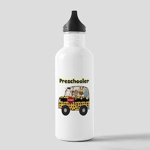 Zoo Animals Preschool Stainless Water Bottle 1.0L