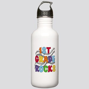 Bright Colors 1st Grade Stainless Water Bottle 1.0