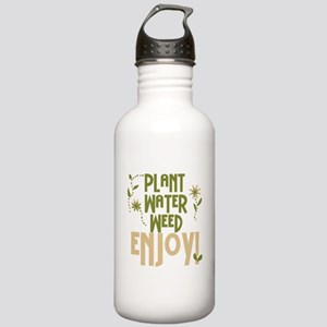 Plant Water Weed Enjoy Stainless Water Bottle 1.0L
