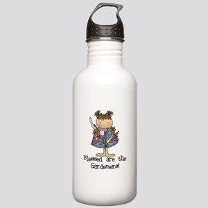 Blessed Are The Gardeners Stainless Water Bottle 1