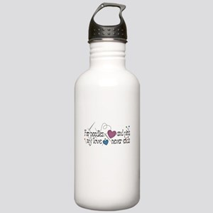 Needles and Pins Stainless Water Bottle 1.0L