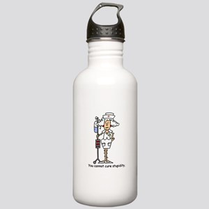 Funny Nurse Four Stainless Water Bottle 1.0L