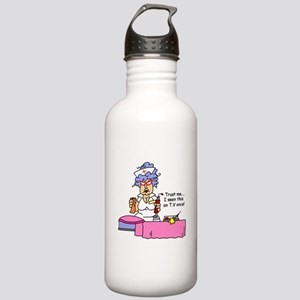Nurse Trust Me Stainless Water Bottle 1.0L