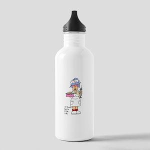 Nurse Hurt Stainless Water Bottle 1.0L