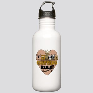 Critters Rule Stainless Water Bottle 1.0L