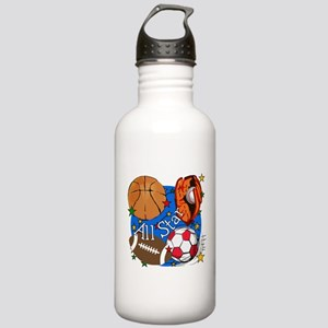 All Star Sports Stainless Water Bottle 1.0L